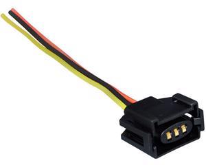 Conector bobina y sensor tps NACIONAL - Terminales 3 Terminales