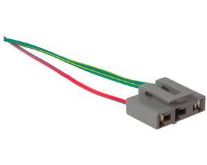 Conector bobina IMPORTADO - Terminales 2 Soquet