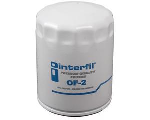 Filtro aceite INTERFIL - Ford Lobo 8 cil - 5.4L 2000-2007 - Altura 107 Milimetros, Diametro externo 76 Milimetros, Tipo de Filtro Sellado