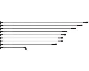 Cable bujia BERU - Bobina 1 33 Centimetros, Cable 1 127 Centimetros, Cable 2 118 Centimetros, Cable 3 108 Centimetros, Cable 4 93 Centimetros, Cable 5 92 Centimetros, Cable 6 87 Centimetros, Cable 7 87 Centimetros, Cable 8 77 Centimetros, Material EPDM , Calibre 8 Milimetros