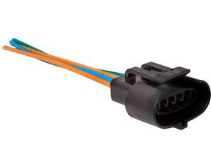 Conector bobina y sensor maf NACIONAL - Terminales 4 Terminales