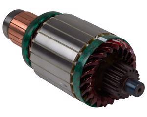 Armadura marcha REMY - Cant Dientes 20 Dientes, Potencia 7.3 KW (Kilowatts), Voltaje 12 Voltios, Serie 39MT , Giro CW , Sistema Delco