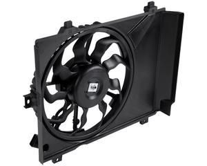 Motoventilador radiador y aire acondicionado CARFAN - Cant aspas ventilador 1 9 Aspas, Terminales conector 1 2 Puntas, Voltaje 12 Voltios