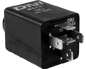 Alarma zumbador DNI - Terminales 5 Terminales, Voltaje 12 Voltios