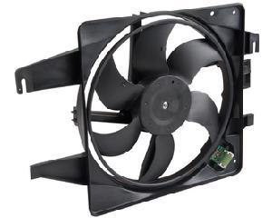 Motoventilador radiador y aire acondicionado CARFAN - Cant aspas ventilador 1 6 Aspas, Terminales conector 1 2 Puntas, Voltaje 12 Voltios