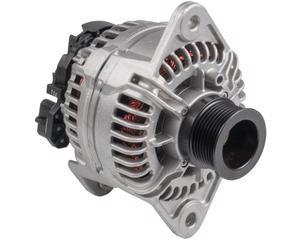 Alternador automotriz BOSCH - Amperaje 150 Amperes, Voltaje 24 Voltios, Serie ER/IF , Sistema Bosch , Montaje SAEJ 180