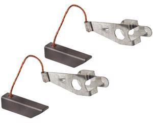 Cepillo alternador ELCA - Altura 5 Milimetros, Ancho 6 Milimetros, Juego 2 Piezas, Longitud 22 Milimetros, Trenza de Cobre 37 Milimetros, Voltaje 12V - 24 Voltios, Serie 19SI, 21SI, IR/EF , Sistema Delco
