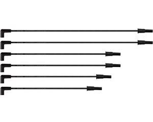 Cable bujia BERU - Chrysler Grand Voyager 6 cil - 3.3L 1996-2000 - Cable 1 67 Centimetros, Cable 2 67 Centimetros, Cable 3 50 Centimetros, Cable 4 50 Centimetros, Cable 5 45 Centimetros, Cable 6 40 Centimetros