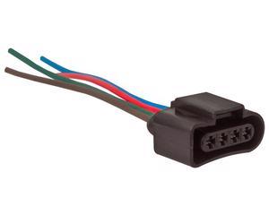 Conector bobina y sensor de oxigeno NACIONAL - Terminales 4 Terminales