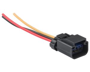 Conector bobina, motoventilador y sensor de cigueñal NACIONAL - Terminales 3 Pin