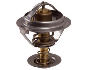 Termostato automotriz MTE-THOMSON - Ford Courier 4 cil - 1.6L 2001-2009 - Diametro 54 Milimetros, Temperatura 82 ºC