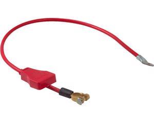 Cable armado ACOSA - Longitud 80 Centimetros, Calibre # 6 , Color Rojo