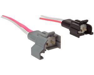 Conector bobina IMPORTADO - Juego 2 Piezas, Terminales 2 Y 2 Terminales