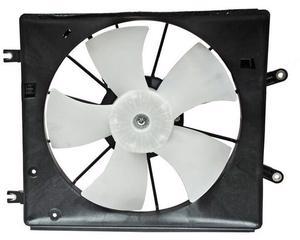 Motoventilador TYC - ACURA TL 6 cil - 3.2 L 2004-2008 - Para radiador Si, Tipo Completo