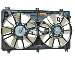 Motoventilador TYC - ACURA MDX 2014-2015 - Para radiador Si, Tipo Completo