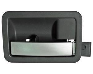 Manija de apertura de puerta  - DODGE Dakota 2005-2011 - Color Gris / plata, Lado Derecho (Copiloto), Posición Delantero / trasero, interior