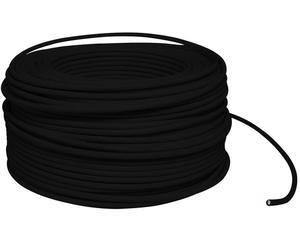 Cable eléctrico Cal. 10 UL 100m negro