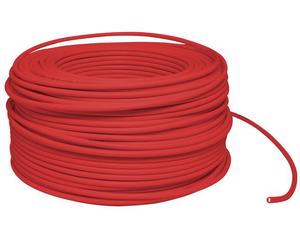 Cable eléctrico Cal. 10 UL 100m rojo
