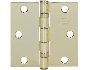 Lock -  Bisagras arquitectónicas de acero/Latón brillante/Perno suelto y 2 baleros