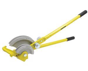 121164 Doblador de tubo de uso pesado 1/2-7/8in Surtek -Para doblar tubo de cobre flexible.-Diseño que le permite insertar el tubo en cualquier punto.-Con dados intercambiables.-Brazo de carga con rodillos para facilitar la operación.-Para diámetros de tubo de 1/2in, 5/8in y 7/8in (12 mm, 15mm y 22 mm).