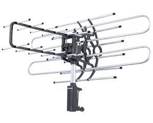 Antena exterior giratoria de 360° con control remoto