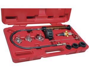 Urrea -  35 psi en caja plástica/Juego detección fugas radiador 6 piezas 0/Juego para detección de fugas en radiador 6 piezas Urrea
