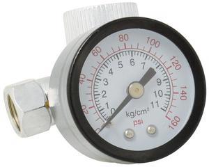 Surtek -  Marca Surtek/Permite controlar el flujo de aire necesario para la operación/Regulador aire con manómetro 160PSI Surtek/Surtek Regulador aire con manómetro 160PSI