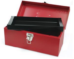 Caja portaherramientas metálica 36 x 16 x 17.5cm