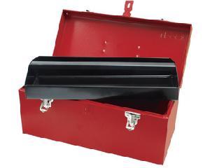 Caja portaherramientas metálica 41 x 18.5 x 19cm
