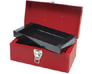 Caja portaherramientas metálica 30 x 16 x 14.5cm