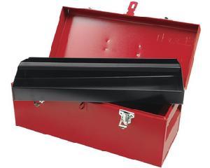 Caja portaherramientas metálica 45.5x19.5x19.5cm