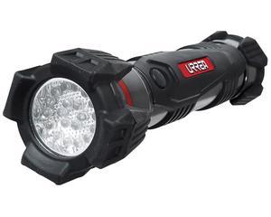 7L2D Linterna 20 LED 2 pilas inDinuso pesado Urrea -Linterna 20 LED 2 pilas inDinuso pesado Urrea-Bajo consumo de energía.-Cuerpo de aluminio con recubrimiento de neopreno.-Haz de luz ultra brillante.-Resistente a impactos. Resistente a todo tipo de clima.-90m haz de luz.