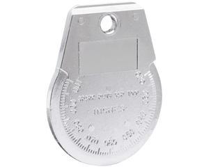 000LL Calibrador tipo rampa para bujía Urrea. -Calibrador tipo rampa para bujía-Herramienta ideal para calibración de bujías-Ajusta y gradúa la secuencia de la rampa en pulgadas