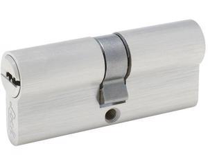 Lock -  5 pernos de precisión/Cilindro de latón sólido de perfil europeo de 70 mm/Dado flexible que permite trabajar en lugares de difícil acceso/Fabricados en acero cromo vanadio y terminado pulido espejo/Incluye tornillo de instalación