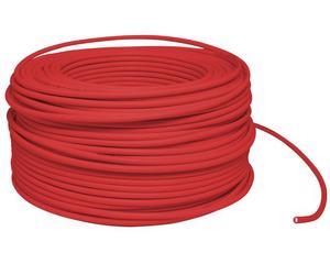 Cable eléctrico Cal. 14 UL 100m rojo