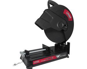 """Urrea -  Velocidad en vacío 3800 r/min, Capacidad de disco 14"""" (355 mm), Diámetro de eje 1"""" (24,5 mm), Peso 16 kg, Potencia 2300 W, Voltaje"""
