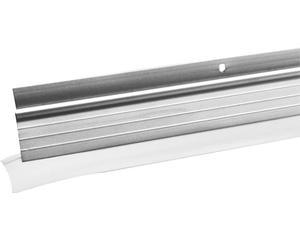 12GP Guardapolvos autom alum 90cm Lock. -Sistema automático de retracción-Acabado natural-Goma de PVC de alta resistencia.
