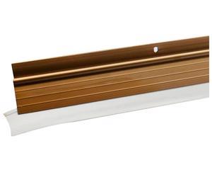 14GP Guardapolvos automático bronce 100cm Lock. -Sistema automático de retracción-Acabado bronce-Goma de PVC de alta resistencia.