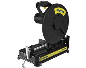 """Surtek - Capacidad de disco 14"""" (355 mm), Diámetro de eje 1"""" (24,5 mm), Peso 16 kg, Potencia 2000 W, Voltaje, Velocidad en vacío 3800 r/min"""