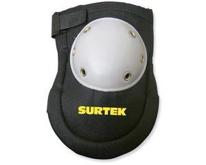 137450 Rodillera reforzada de goma Surtek -Rodillera de goma resistente para prevenir lesiones al momento de realizar actividades ligeras.-Fácil de ajustar.-Diseño ergonómico que da descanso y confort a la rodilla.