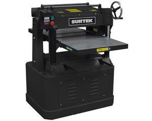 CE720 Cepillo de banco 20in 5HP 220V Surtek. -Capacidad de controlar el espesor a cepillar-Espesor máximo de corte 8in