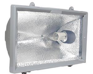 136119 Reflector p/lámpara E27 65W Surtek. -Reflector portalámparas E27-Para lámparas de hasta 65w-Luz fría-Voltaje de 127v-Dimensiones 345*165*350mm