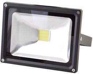 136134 Reflector LED alta potencia 20W Surtek -Fabricado en aluminio.-Ahorrador de energía. Vidrio templado.-IP 65.-Luz de día (6,500°K).-Tensión de 85-265 V.