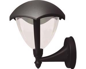 135984 Farol LED soportado negro Surtek. -Farol LED suspendido, cuerpo de aluminio.-Con recubierta protectora de polvo en la interperie-Grado IP 54 , 4 Watts , Color temperatura 6500K-Largo:210mm Ancho:188mm Alto:238mm