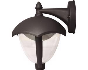 135983 Farol LED suspendido negro Surtek. -Farol LED suspendido, cuerpo de aluminio.-Con recubierta protectora de polvo en la interperie-Grado IP 54 , 4 Watts , Color temperatura 6500K-Largo:210mm Ancho:188mm Alto:238mm