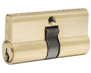 Lock -  5 pernos de precisión/Cilindro de latón sólido de perfil europeo de 60 mm/Dado flexible que permite trabajar en lugares de difícil acceso/Fabricados en acero cromo vanadio y terminado pulido espejo/Incluye tornillo de instalación
