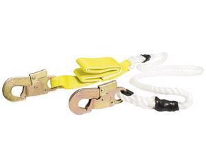 Amortiguador de impacto tipo cuerda de nylon