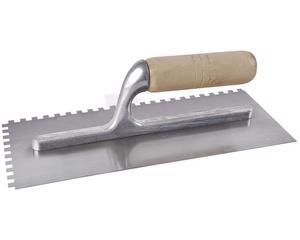 123182 Llana 11x5in10rem dent cuadr Surtek. -Soporte de aluminio para disminuir el peso-Fabricadas en acero alto carbono-Lámina con acabado pulido espejo-Medida 11in x 5in