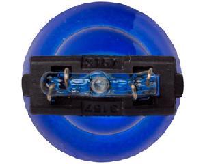 Foco incandescente STAR - Jeep Grand cherokee 8 cil - 6.1L 2006-2008 - Juego 1 Piezas, Terminales 2 Polos, Voltaje 12 Voltios, Soquet 3157 , Color Azul