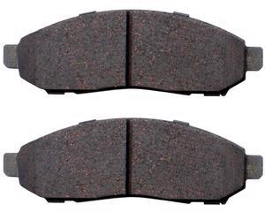 Balata de freno de disco BOSCH - Nissan Pathfinder 6 cil - 4.0L 2005-2010 - Juego 2 Piezas, Lado Delantera